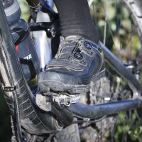 cycling shoes and socks