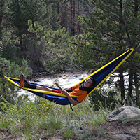 Hammock on the riverside