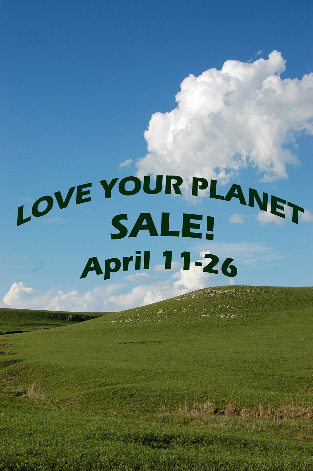 Love Your Planet Sale