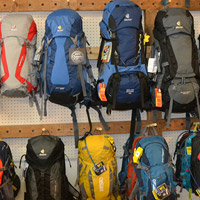 Pack Wall at Pathfinder