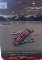 Classic Swiss Army knife