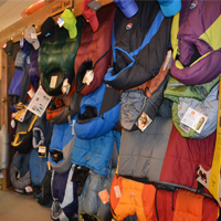 sleeping bag room at pathfinder