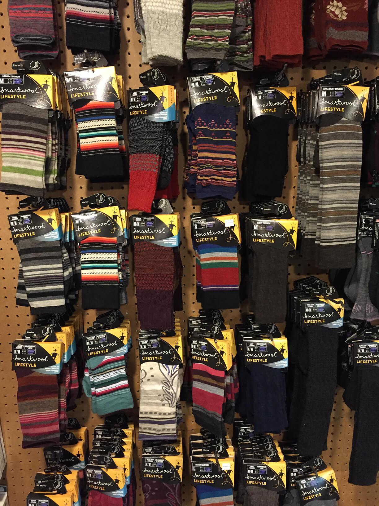 Sock wall
