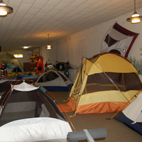tent room at pathfinder