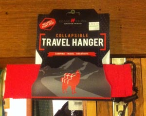 Travel hanger
